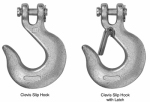 Apex Tools Group T9504315 Clevis Slip Hook with Latch, .25-In