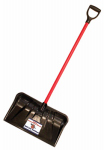 Bully Tools 92814 Combination Snow Shovel Pusher, 22-In.
