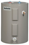 Reliance Water Heater 6-40-EOLBS 100 Low Boy Water Heater, Electric With Blanket, 4500-Watt, 38-Gals.