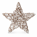 4 Seasons Global ZL15-1105 Christmas Decoration, Rattan Star, 20-In.