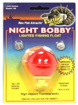 Maurice Sporting Goods 158 Fishing Float, Small Red Night Bobby