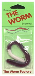 Maurice Sporting Goods 6REG-214-24 Fishing Lure, Purple/White Worm, 6-In.