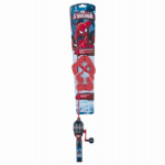 Maurice Sporting Goods SPMAN26KIT Spiderman Fishing Kit, 2.5-Ft.