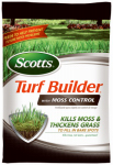 Scotts Lawns 40210 Turf Builder With Moss Control, 23-0-3, 10,000-Sq. Ft. Coverage