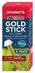 Ap & G 912R4 Gold Stick Fly & Wasp Trap, 4-Pk.