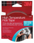 3M 2113 15-Ft. Hi-Temp Silver Flue Tape