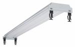 Cooper Lighting GL232R Fluorescent Grid Light, T8, 2-Lamp, 120-Volt, 48-In.