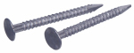 Hillman Fasteners 461472 Drywall Nails, Ring Shank, Bright, 1-1/4-In., 1-Lb. Box