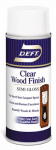 Deft/Ppg Architectural Fin DFT011S/54 Aerosol Semi-Gloss Wood Finish, Clear, 13-oz.