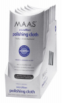 Maas International 91455 Metal Polishing Cloth, Lavender Scent, 12 x 12-In.