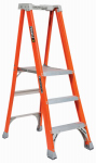 Louisville Ladder FXP1703 Step Ladder, Type 1A, 3-Step, Fiberglass
