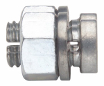 Gallagher North America G605 Electric Fence Split Bolt Wire Connector, 5- Pk.