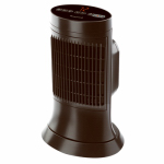 Helen Of Troy Codml HCE311VD1 Ceramic Compact Tower Heater, Digital, Black Cool-Touch Housing