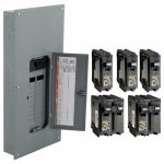 Square D By Schneider Electric HOM2040M200PCVP 200A Main LD Center or Central Pack