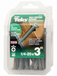 Itw Brands 21378 1/4-20x3 MTL Tek Screw