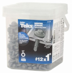 Itw Brands 21418 12x1 ZN MTL Roof Screw