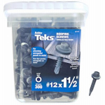 Itw Brands 21422 12x1-1/2 MTL Roof Screw