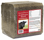 Ridley 29574 Cattle Mineral Block, 4%, 40-Lbs.
