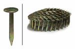 Hillman Fasteners 461767 Roofing Nails, Electro Galvanized Coil, 1-In. x .120, 7,200-Ct.