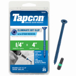Itw Brands 24397 25PK 1/4x4 Concentrate or Concentrated or Concrete Anchor