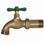 Arrowhead Brass & Plumbing 201LF Hose Bibb, Lead-Free, 1/2-In. MPT