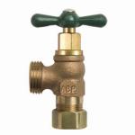 Arrowhead Brass & Plumbing 221CCRBLF Boiler Drain, Lead-Free, 1/2-In. Copper Compression x 3/4-In. Hose
