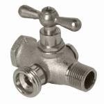 Arrowhead Brass & Plumbing 248LF Washing Machine Valve, Lead-Free, Reversible, 1/2-In. Bypass
