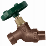 Arrowhead Brass & Plumbing 251QTLF Hose Bibb, Quick Turn, Lead-Free, 1/2 x 3/4-In. Hose Thread