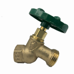 Arrowhead Brass & Plumbing 253QTLF Hose Bibb, Quick Turn, Lead-Free, 1/2 FIP x 3/4-In. Hose Thread