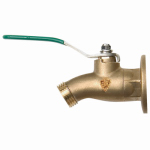 Arrowhead Brass & Plumbing 255BVLF Sillcock Ball Valve, No-Kink, Lead-Free, 1/2 FIP x 3/4-In. Hose Thread