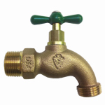 Arrowhead Brass & Plumbing 302LF Hose Bibb, Lead-Free, 3/4 MPT x 3/4-In. Hose Thread