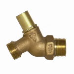 Arrowhead Brass & Plumbing 351LKLF No-Kink Loose Key Hose Bibb, Lead-Free, 3/4-In. MPT x 3/4-In. Hose Thread