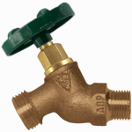 Arrowhead Brass & Plumbing 351QTLF Hose Bibb, Quick Turn, Lead-Free, 3/4 MIP x 3/4-In. Hose Thread