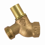 Arrowhead Brass & Plumbing 353LKLF No-Kink Loose Key Hose Bibb, Lead-Free, 3/4 FPT x 3/4-In. Hose Thread