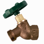 Arrowhead Brass & Plumbing 353QTLF No-Kink Hose Bibb, Quick Turn, Lead-Free, 3/4 FIP x 3/4-In. Hose Thread