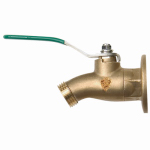 Arrowhead Brass & Plumbing 355BVLF No-Kink Ball Valve Sillcock, Lead-Free, 3/4 FIP x 3/4-In. Hose Thread