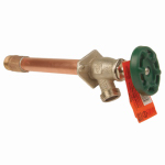 Arrowhead Brass & Plumbing 465-10-LF Frost-Free Hydrant With Vacuum Breaker, Lead-Free, 1/2 FIP or 3/4 MIP x 10-In.