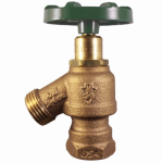 Arrowhead Brass & Plumbing 965LF Combination Garden Valve With Vacuum Breaker, Lead-Free, 1/2 & 3/4-In. Nested FPT