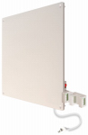 Econo Heat Usa 607101C Wall Panel Convection Heater With Programmable Thermostat, 400-Watt