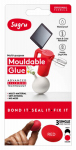 Sugru 100416 Moldable Glue, Single Use, Multi-Color, 3-Pk.