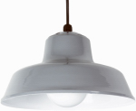 Southwire/Coleman Cable L1712 Hanging Barn Light, Gray, 14-In.