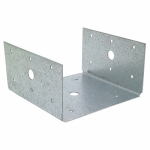 Simpson Strong Tie BC60Z Half Post & Column Base, 18-Ga. Steel, 6 x 6-In.