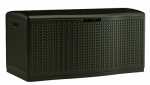 Suncast BMDB12000 Extra Large Deck Box, Mocha Herringbone Design, 124-Gals.