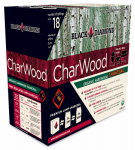 Black Diamond Charwood BD088 Organic Lump Charcoal, Hardwood, 0.88 Cu. Ft.