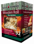 Black Diamond Charwood BDS32 Fire Starters, Hardwood Strands, 32-Pk.