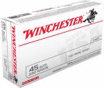 Winchester Ammunition Q4170 50RND 45Auto PSTL Ammo