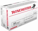 Winchester Ammunition Q4171 50RND 38 Spec PSTL Ammo