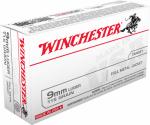 Winchester Ammunition Q4172 50RND 9mm Lug PSTL Ammo