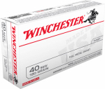Winchester Ammunition Q4238 50RND 40 SW PSTL Ammo