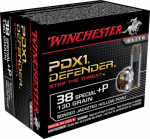 Winchester Ammunition S38PDB 20RND 38Spec+P PSTLAmmo